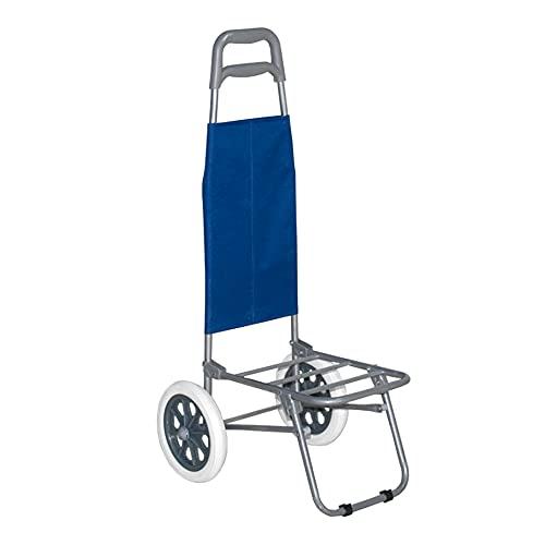 LA RUTA Carro Portasillas Playa Aluminio Carretillas de Carro Plegable (Carro 647281)