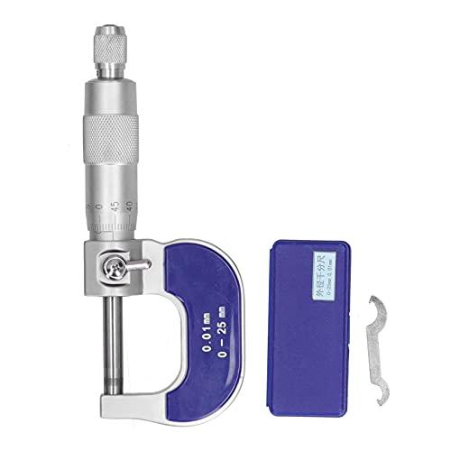 ゲージマイクロメータ、小さな溝を測定するための正確なマイクロメータステンレス鋼