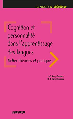 Cognition et personnalité dans l'apprentissage des langues - Livre