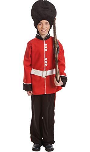 Disfraz de Guardia Ingls para nio