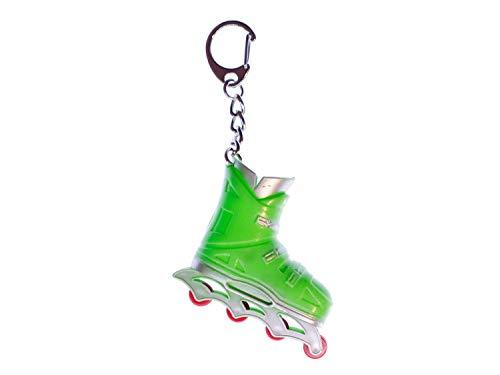 Miniblings Rollerskates Rollschuhe Inlineskates Schlüsselanhänger grün - Handmade Modeschmuck I I Anhänger Schlüsselring Schlüsselband Keyring