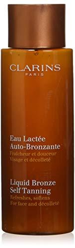 Clarins Liquid Bronze Self Tanning, Face and Decollete, 4.2 Fl Oz