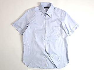 [マッキントッシュロンドン] クールマックス ロイヤルオックスフォード ボタンダウン シャツ 半袖 サックス 00303a13