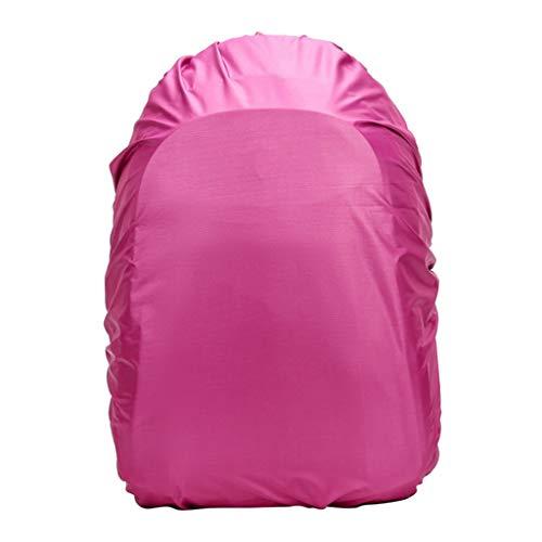 yotijar Zaino Copertura della Pioggia 100% Impermeabile Ultralight Copri Zaino, Sacchetto di Stoccaggio, per L'escursionismo, Il Campeggio, Mountain Bike, Rosa