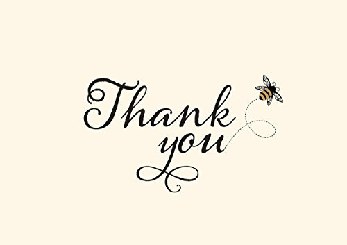 Bumblebee Thank You Notes (Stationery, Note Cards, Boxed Cards) by Peter Pauper Press (2016-06-01)