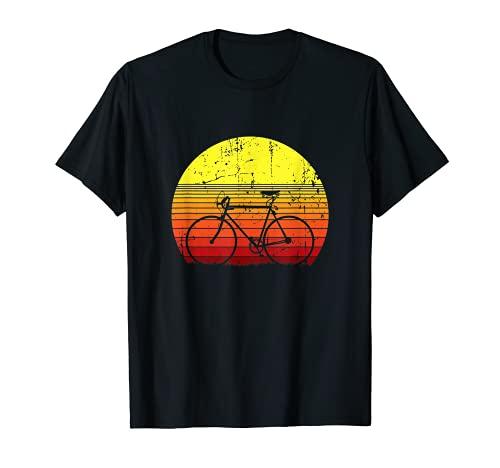 Vintage Rennrad Radfahrer Fahrrad Radsport T-Shirt