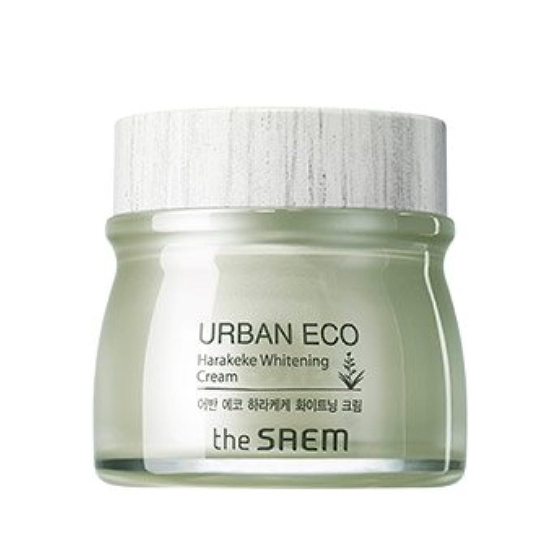 the SAEM Urban Eco Harakeke Whitening Cream 60ml/ザセム アーバン エコ ハラケケ ホワイトニング クリーム 60ml