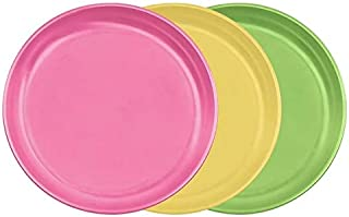 Green Sprouts 152690 Frontier Natural Products Feeding Pink Sprout Ware Plate Set