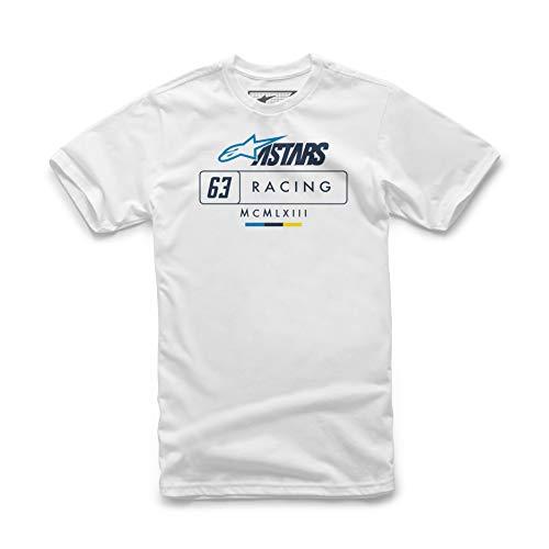 Alpinestars Herren Formula T-Shirt, Weiß, XL