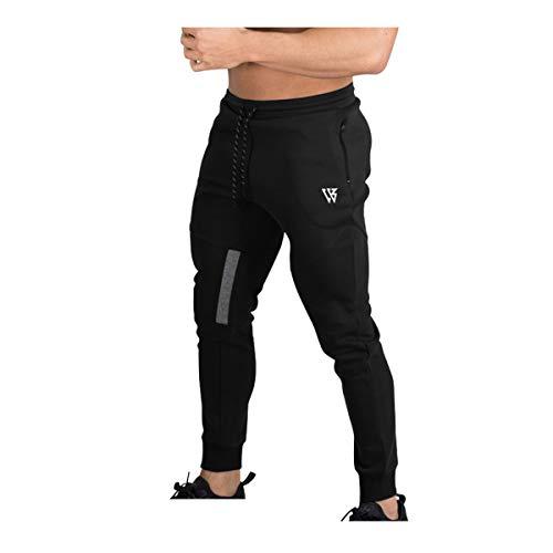 BROKIG Pantalones de Chándal de Gimnasio para Hombre Joggers Chándal Vertex para...