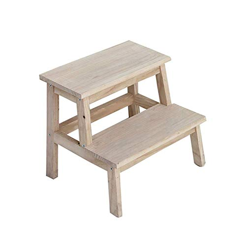 Folding Bed Holz Küche Hocker Bett Badezimmer Leiter forildren und Erwachsene Machen Kleinkind Trittschemel Trittschemel
