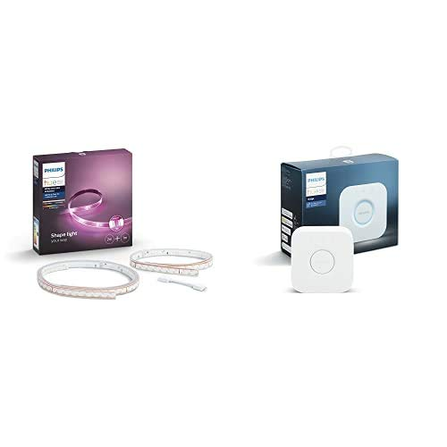 Philips Lighting Philips Hue White & Color Ambiance Solution LightStrip Plus 2...