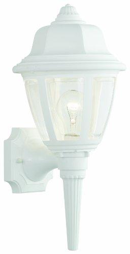 Thomas Lighting SL94428 Essentials Outdoor Wall Lantern, Matte White