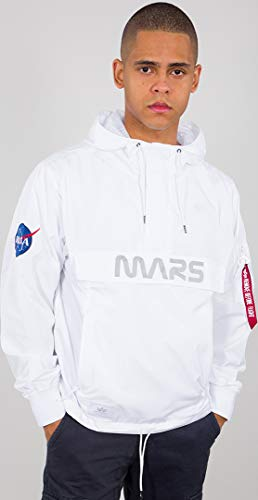 Alpha Industries Mars Mission Jacke Weiß L