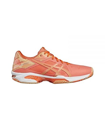 ASICS Gel Solution Speed 3 Clay Naranja Mujer E854N 0630
