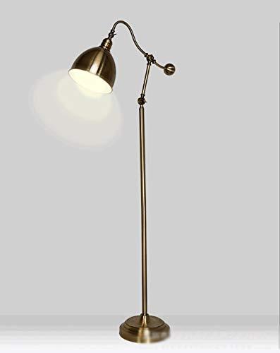 Startseite-Neuheit-Stehleuchte-Stehlampe-Retro-Wohnzimmer-Antik-Kupfer-Schlafzimmer-Nachttische-Stehlampe-Arbeitszimmer-Stehlampe-Bodenfluter