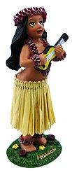 KC Hawaii Girl with Ukulele Mini Dashboard Doll 4 by