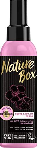 Nature Box Insta Lift-Up Spray Mandel-Öl, 3er Pack (3 x 150 ml)