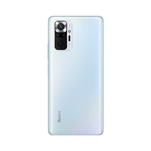 Redmi Note 10 Pro Max (Glacial Blue, 6GB RAM, 128GB Storage) -108MP Quad Camera 120Hz Super Amoled Display 3