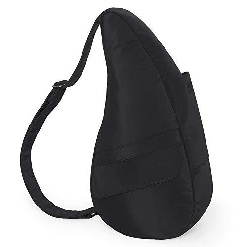 AmeriBag Small Classic Microfiber Healthy Back Bag, Black