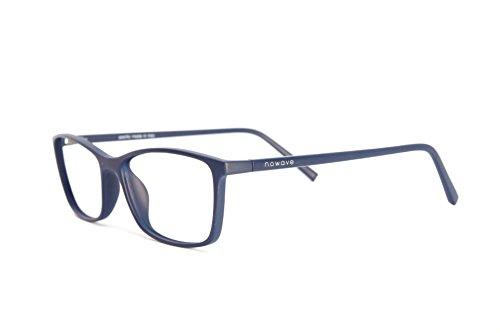 NOWAVE Brillen mit Blaulichtfilter – Hoher Schutz - Gaming Brillen für PC, Handy und Fernseher – Anti-Müdigkeit, Anti-Blaulicht, UV-Schutz [ Neue 2019 Version ]