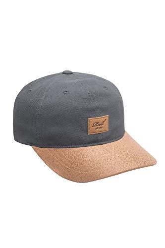 Reell Curved Suede Cap, Basecap Baseball Caps für Herren und Damen