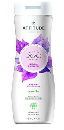 ATTITUDE Super Leaves Shower Gel - Hautberuhigend mit weissem Tee (1 x 473ml)