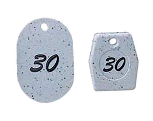 グラニット クロークチケット グレー 11005 (1~50) /62-6776-46