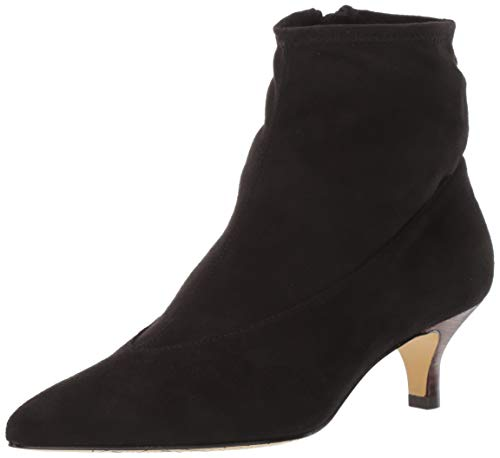 Bella Vita Women's Stephanie II Ankle Boot, Black Stretch, 9.5 M US