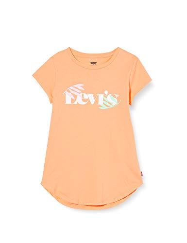 Levi's Kids LVG ROUND HEM GRAPHIC TE SHIRT C765 Camiseta Canteloupe para...