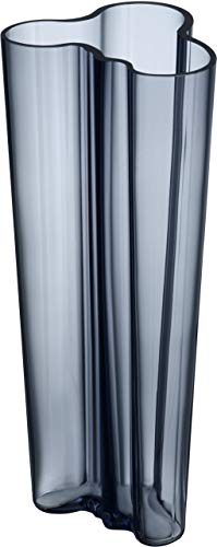 Iittala Aalto Vase, Glas mundgeblasen, Blau