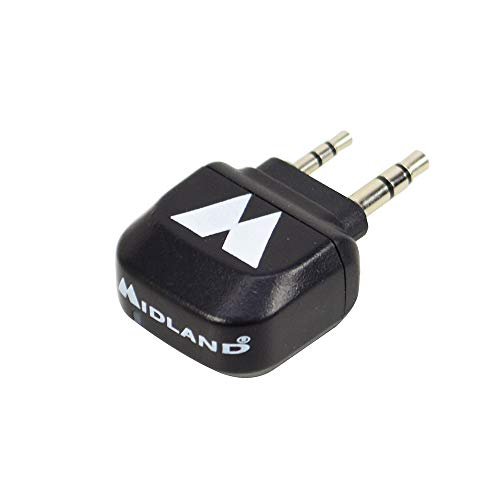 Midland C1276 WA-CB Adaptador Bluetooth, Negro