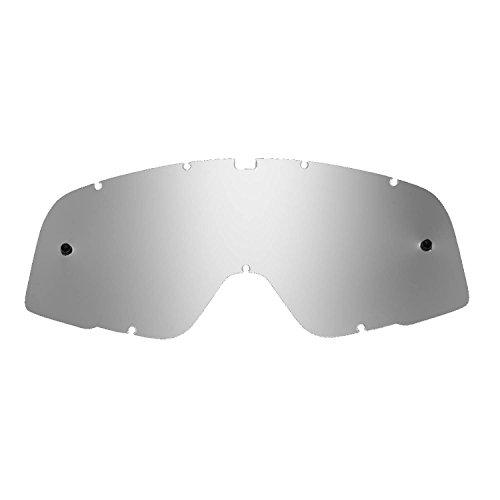 SeeCle vervangende lenzen voor brillen compatibel voor 100% Barstow masker Zilver gespiegeld