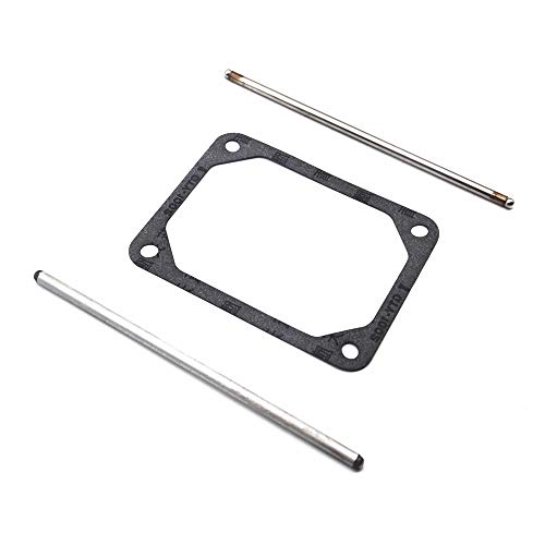 Paopro 690981 & 690982 Push Rods Set for Briggs & Stratton with 690971 Valve Cover Gasket