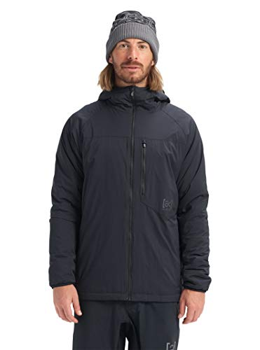 Burton Mens Ak Full Zip Insulator, True Black New, Large