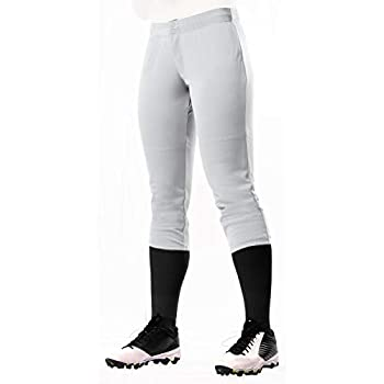 CHAMPRO Fireball Low-Rise Knicker-Style Fastpitch Softball Pants in Solid Color with Reinforced Knees