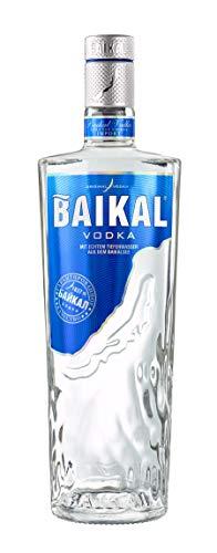 Baikal Vodka, sibirischer Premium Wodka 40% vol., Qualitäts Vodka mit Wasser des Baikalsees hergestellt (1 x 0.7 l)