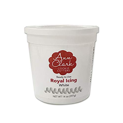 Ann Clark Cookie Cutters Royal Icing, 14 oz Tub