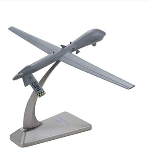 miqimaoyimium 1/72 Scale MQ-1 Predator Drone Reconnaissance Aircraft Alloy Plane Model for Kids Gifts Collectibles