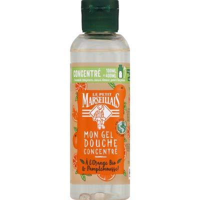 Le Petit Marseillais Gel douche orange citron bio - Le flacon de 100ml