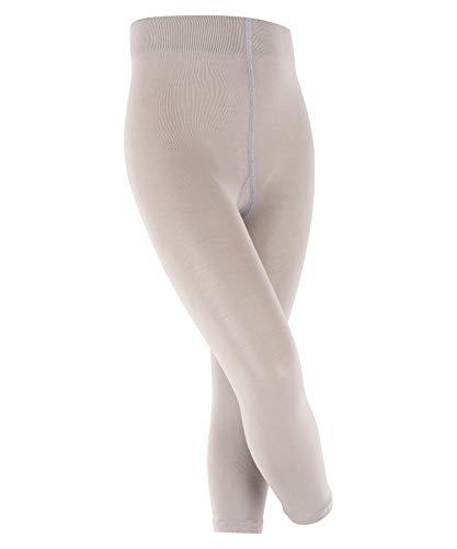FALKE Kinder Leggings Cotton Touch - Baumwollmischung, 1 Stück, Grau (Silver 3290), Größe: 134-146