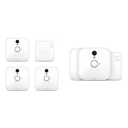 Blink Indoor Home Security Camera System with Motion Detection, HD Video, 2-Year Battery Life and Cloud Storage Included - 5 Camera Kit