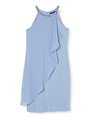 ESPRIT Collection Damen 020EO1E351 Kleid, 425/BLUE Lavender, 40