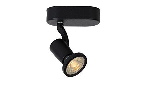 Lucide JASTER-LED - Spot Plafond - LED - GU10 - 1x5W 2700K - Noir