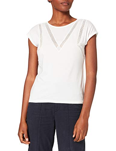 Morgan Tshirt Dirk Camiseta, Offwhite, TM para Mujer