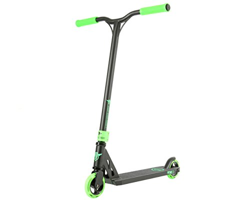 Longway Prime Patinete Scooter Freestyle (Negro/Verde)