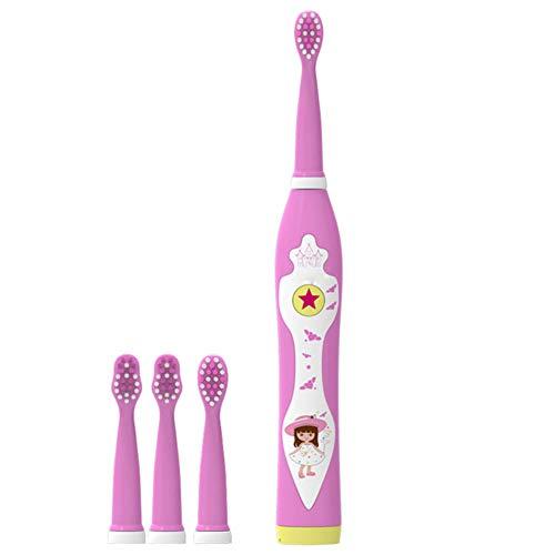 Preisvergleich Produktbild SPFAZJ Elektrische Zahnbürste mit 2 Bürsten-Modi und 4 Ersatz Köpfe enthalten 2 Minuten Smart Timer,  Sekunden pausieren remin Der,  kann es Lieder singen.