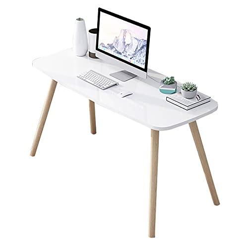 ZWJLIZI Escritorio de computadora, Mesa de Comedor de Mesa de Madera Maciza de tamaño pequeño, Mesa de Comedor H74CM, Dormitorio Multifuncional/tocador de Sala de Estar (Color : A, Size : 80X40X74CM)