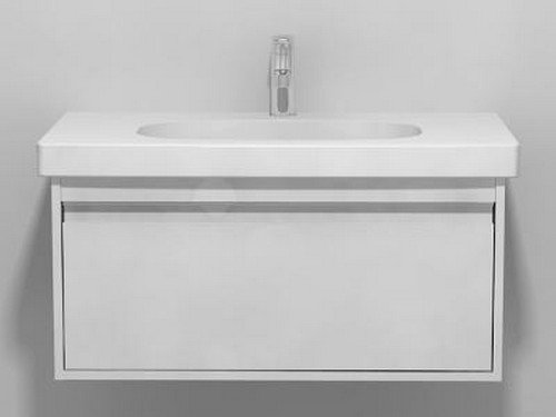"""Price comparison product image Duravit KT666701818 Vanity Unit Wall-Mounted for 034285,  17 7 / 8"""" x 31 1 / 2"""""""