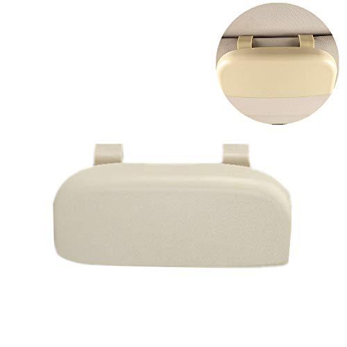 Funda Gafas De Sol Porta Gafas Para Coche Accesorios del coche Interior Gafas de lectura de Visor gafas de sol Accesorios de coche Beige,One Size